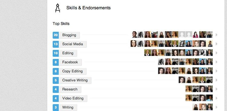 Image result for linkedin endorsements