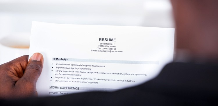 friendly resume