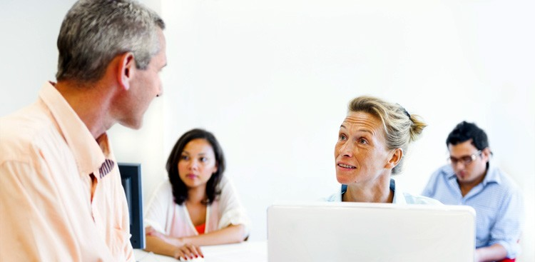 how to manage older employees