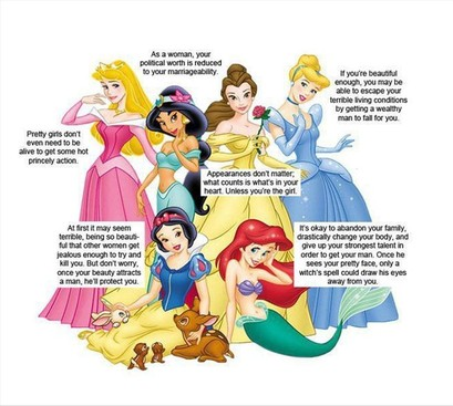 Career Guidance - What We Weren't Supposed to Learn From Disney Princesses