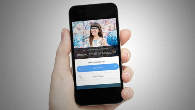 Digital business cards networking apps the muse abouts intro enables you to turn your about page into a shareable digital business card that you can send on your phone through email colourmoves