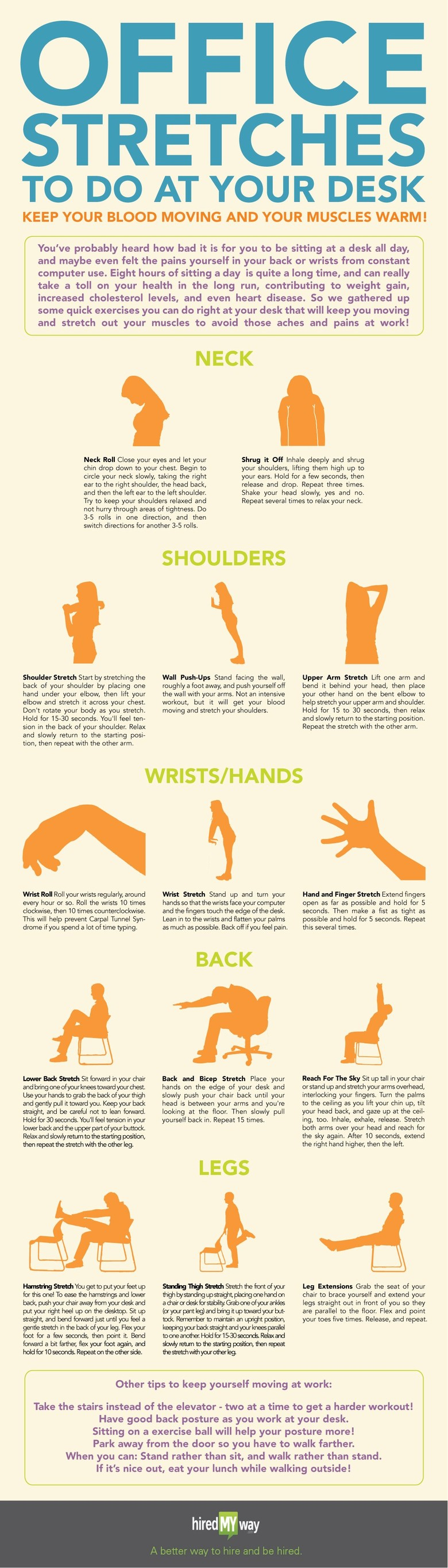 Infographic Courtesy Of Hiredmway Photo Cat Stretching Shutterstock