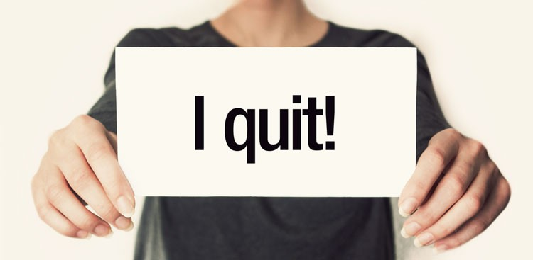 worst ways to quit a job the muse