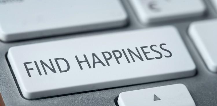 Happiness computer key