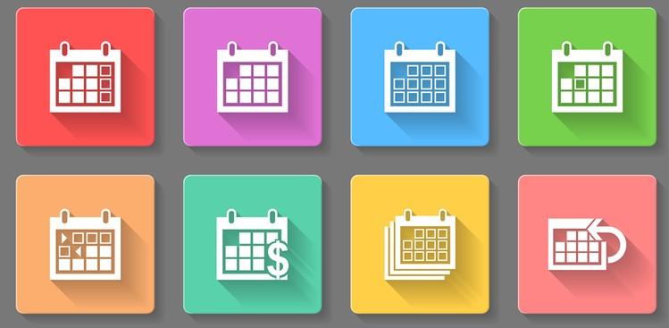 calendar illustrations