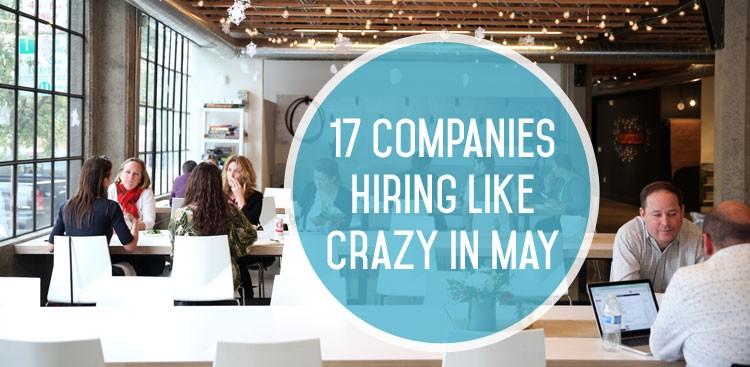 Top Companies Hiring in May - Job Postings - The Muse