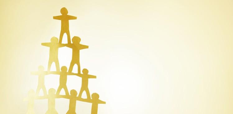 People pyramid
