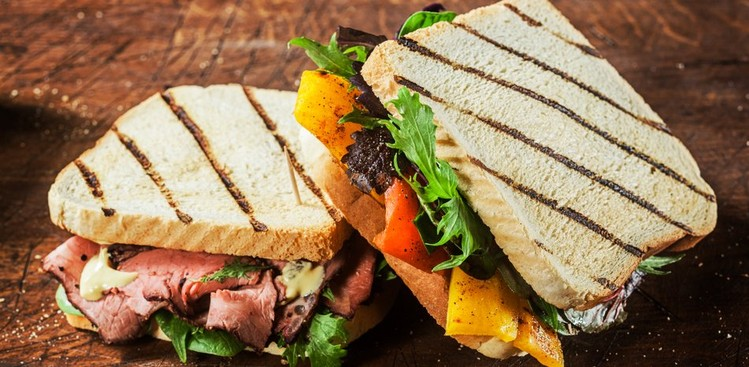 healthy lunch sandwich