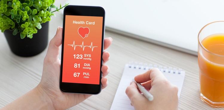 Smartphone health app