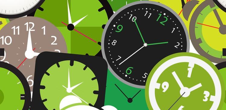 Clocks illustration
