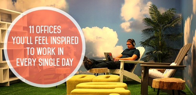 Career Guidance - 11 Offices You'll Feel Inspired to Work in Every Single Day