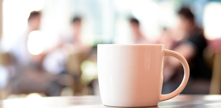 Networking with coffee