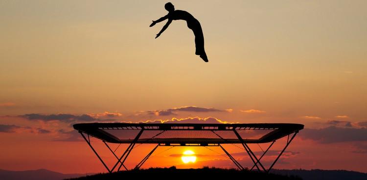 Man jumping