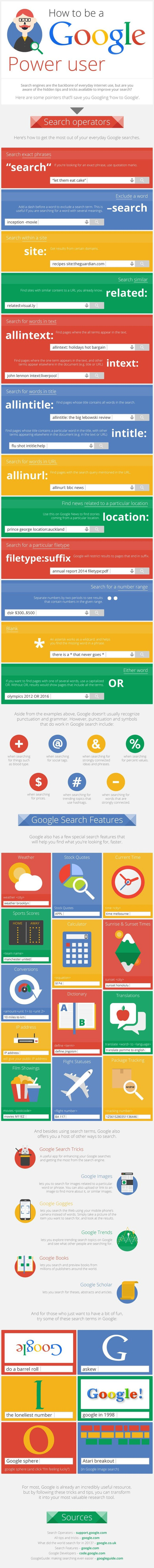 Google Search Hacks To Make Your Life Easier Infographic The Muse