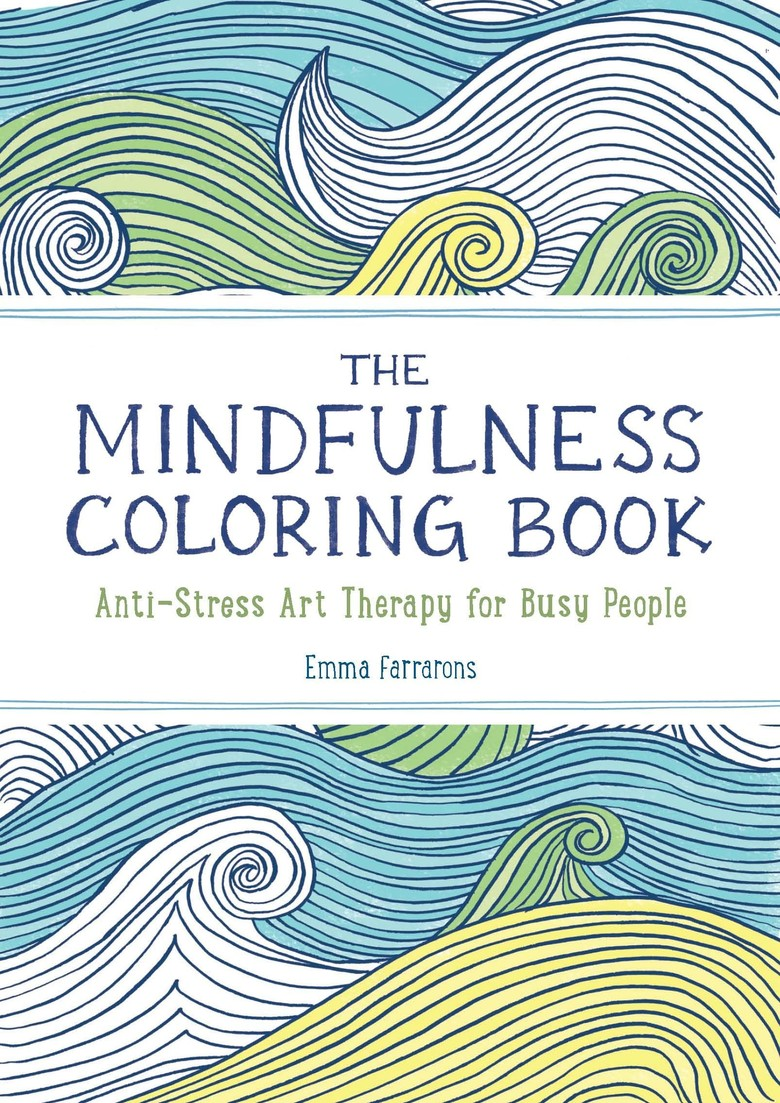 Mindfulness Adult Coloring Book