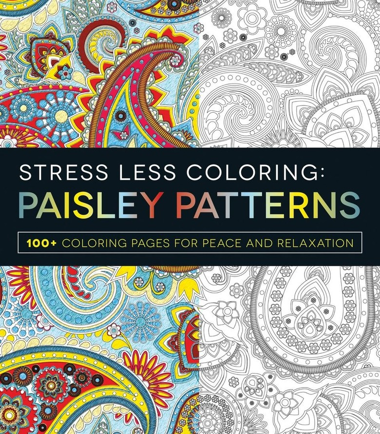 Stress Less Adult Coloring Book