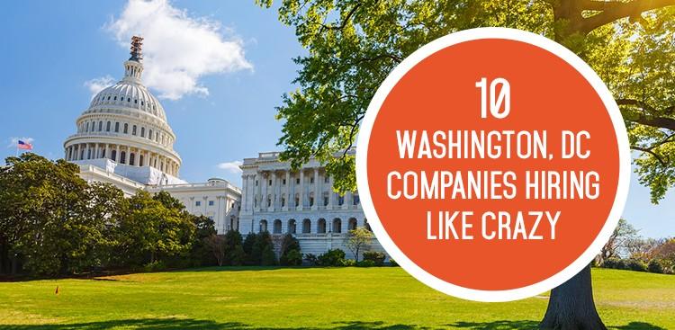 Career Guidance - 10 DC Companies Hiring Like Crazy in September
