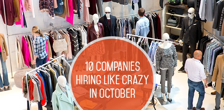 Career Guidance - 10 Companies Hiring Like Crazy in October