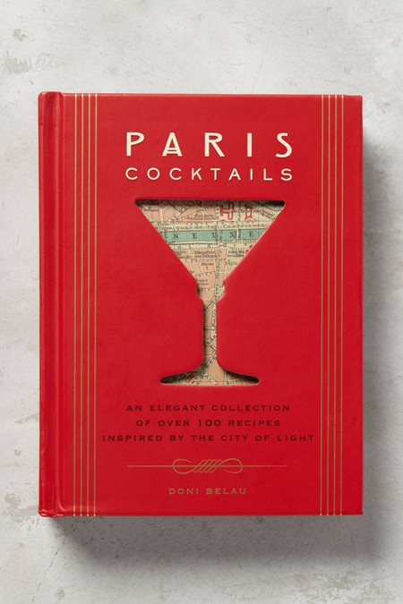 gift for business mentor: paris cocktails book