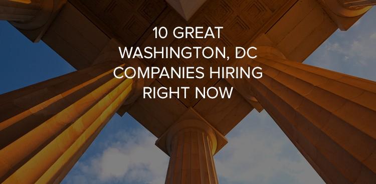 Jobs in Washington, DC