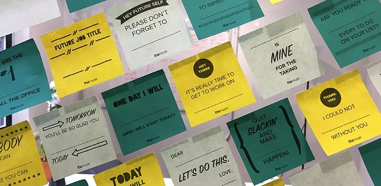 Diy Printable Sticky Note Templates - The Muse