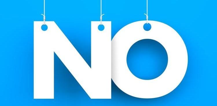 saying no at work