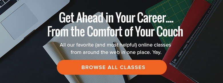 14 Places Where You Can Find Online Classes - The Muse