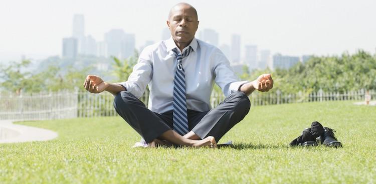Meditation Can Make You More Positive