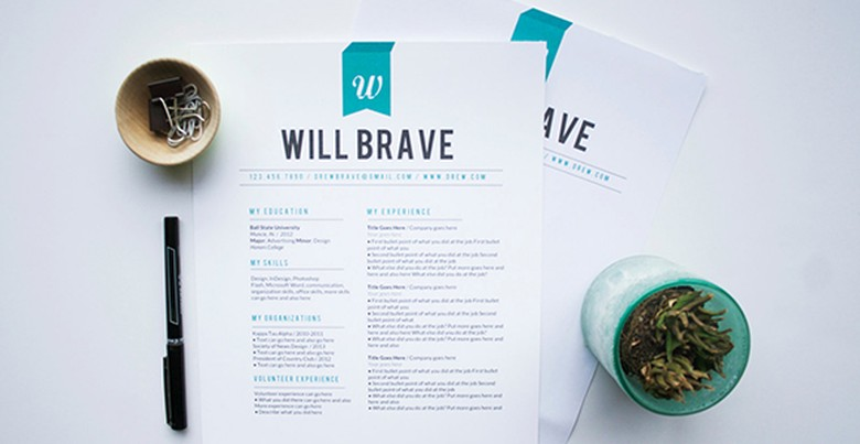 Etsy Resume Template 4