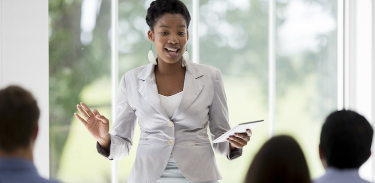 5 Ways to Give Better Presentations at Work - The Muse