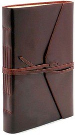 gifts for bosses: leather journal