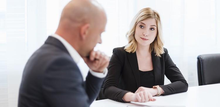 Interviewer to Interviewee