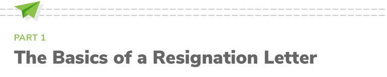 How to Write A Resignation Letter | The Muse
