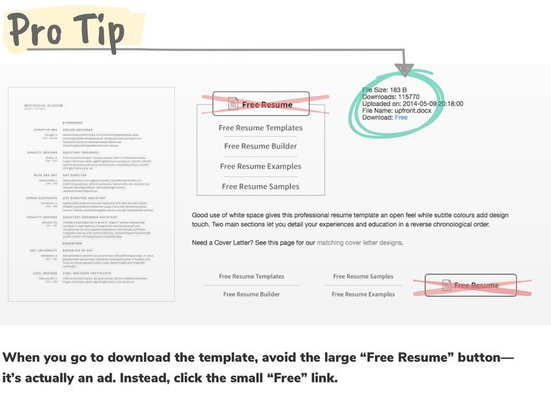275 free resume templates you can use right now - I Need A Resume Template