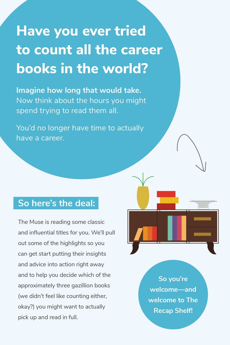 have you ever tried to count all the career books in the world?