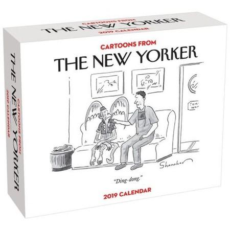 gifts for bosses: The New Yorker desk calendar