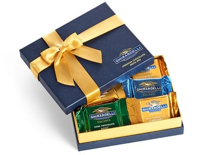 gift for business mentor: chocolate gift box
