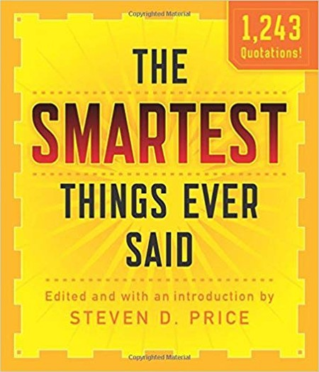 gifts for bosses: The Smartest Things Ever Said book