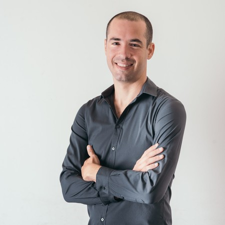 Ofir Paldi, former pilot and founder and CEO of Shamaym