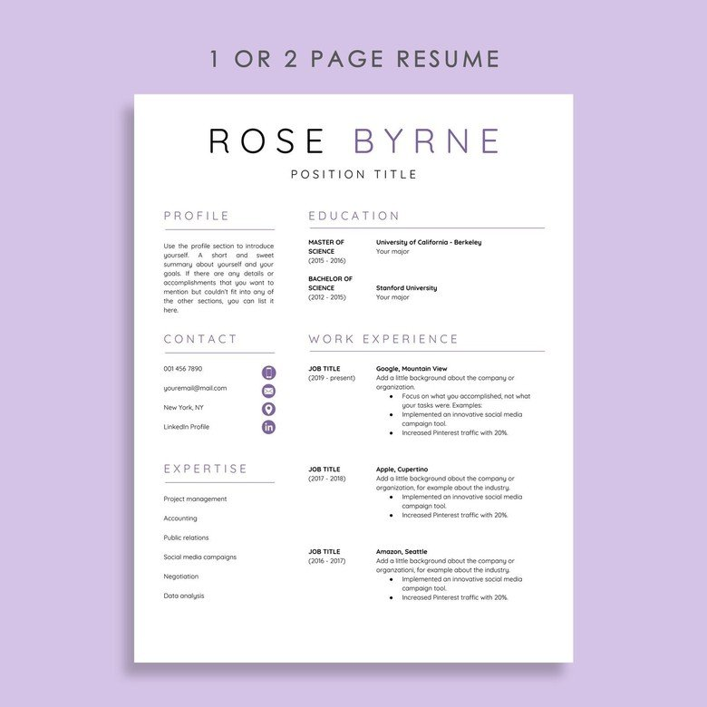 5 Google Docs Resume Templates And How To Use Them