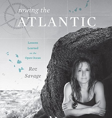 cover image of the audiobook of Rowing the Atlantic by Roz Savage