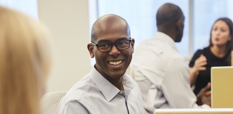 photo of Marcus, Client Manager at American Express