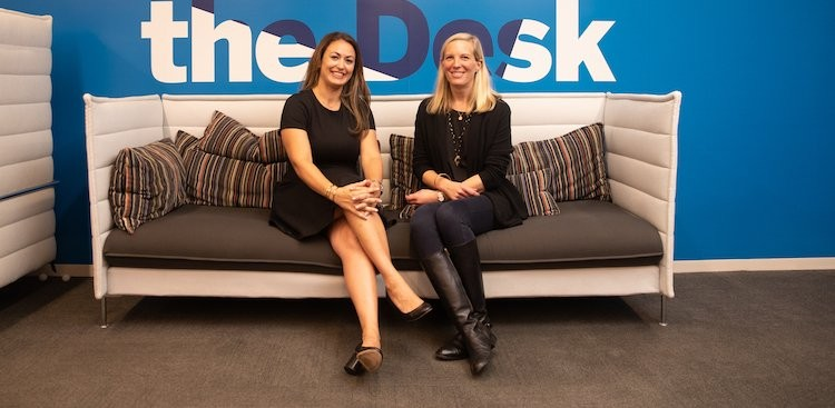 photo of Debbie and Meredith, Directors of Digital Content UX Team within Global Commercial Services at American Express