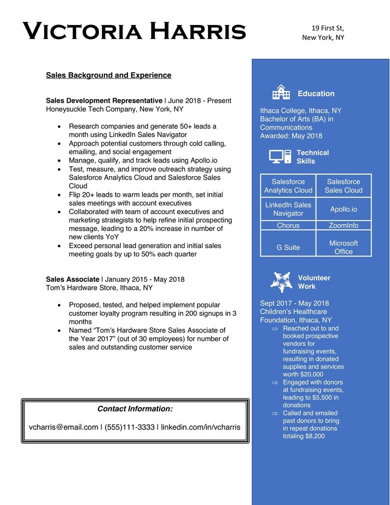 8 Secrets To Making An Ats Friendly Resume The Muse
