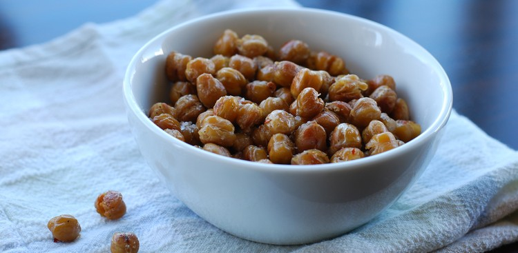 Career Guidance - A Healthy Workday Snack: Spicy Baked Chickpeas