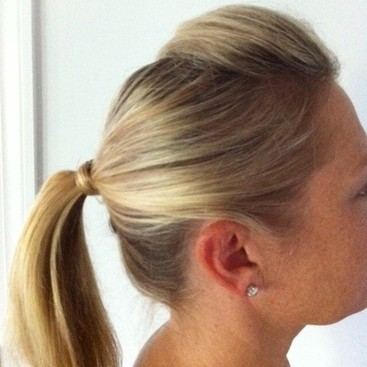 The Easiest Work Hairstyle Ever