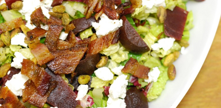 Career Guidance - Your Weeknight Dinner Plan: Mixed Greens with Bacon, Beets, & Goat Cheese