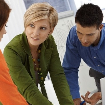 Career Guidance - Three's a Crowd: What To Do When You're Caught in the Middle at Work
