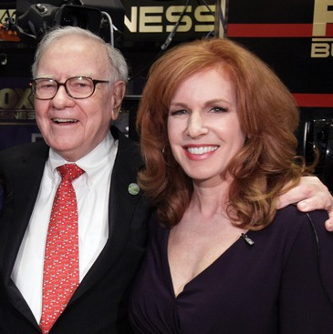 the best advice i ve received from warren buffett fox anchor liz claman