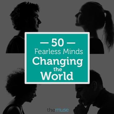 Career Guidance - 50 Fearless Minds Changing the World: The Winners